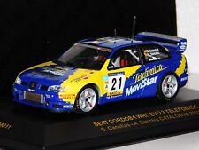 SEAT CORDOBA WRC EVO 3 #21 CANELLAS CATALUNYA 2001 IXO RAM011 1/43