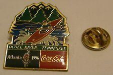 Pins coca cola ATLANTA 1996 CANOE OCOEE RIVER TENNESSEE