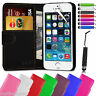 iPhone 5 Case For Apple Leather Flip Wallet iPhone 5 5S Cover