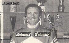 Jean-Pierre Jaussaud - FRA - Motorsport -  2 x  Le Mans Sieger  - signiert - !!!