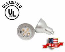 110V, 3W UL-listed GU10 LED Bulb, 2700K Warm White
