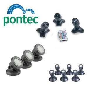 OASE PONTEC PONDOSTAR LED POND LIGHTS SET UNDERWATER SUBMERSIBLE GARDEN LIGHTING