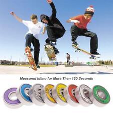 ABEC-11 Ceramics Bearing 8 Pcs Skateboard Longboard Road Skating Bearings