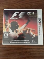 Factory Sealed F1 (Formula 1) 2011 3DS NTSC U/C Free Shipping