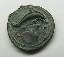 - SICILE - SYRACUSE - Bronze au Dauphin - 357-344 AvJc