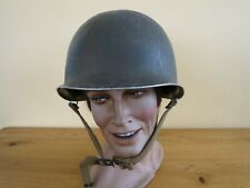 RARE WW2 US American M1 Helmet with Westinghouse Liner & Front Split Seam