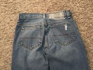 Polo Ralph Lauren Jeans 15941 - Boys size tag = 14 (MEASURED 26x27) - (5522)