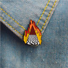 Twin Peaks Lynch Style Through Fire Enamel Pins Badges Brooches Badges Lapel