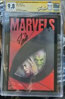 Spiderman. Marvels 9.8 #4 stan Lee label.signed by Stan Lee.very rare.