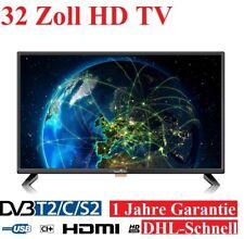SMARTTECH Fernseher 32 Zoll Triple Tuner HD TV 2USB/3HDMI/CI+/VGA Schnittstelle