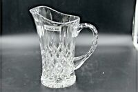 Large Vintage Cut Crystal Pitcher