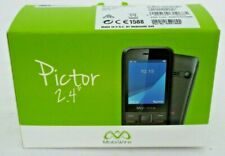 MobiWire Pictor 2.4'' Basic Mobile Phone - Black - 2.0 MP Camera