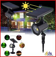 proiettore con pannello solare luci laser di natale per esterno e interno led