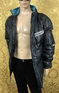 rare REEBOK ON FIELD Winter Down Puffer JACKSONVILLE JAGUARS NFL Jacket men XXL