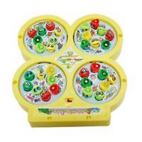 Electrico giratorio magnetico Pesca del iman Juego de juguetes educativos de 4U2