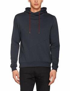Blend Global Jeansmaker Hoodie Sweatshirt Ebony Grey  L New BNWT