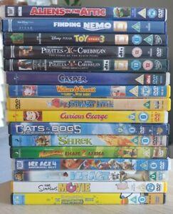 X16 DVD Dreamworks Disney childrens kids Family Bundle CLASSICS movies films set