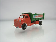 Diecast Lone Star Tuf-Tots Construction Truck 1/118 Orange/Green Good Condition