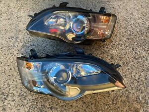 Subaru Liberty Outback 03 - 06 Gen 4 3 Genuine REFURBISHED Koito Headlights Pair