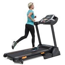 Laufband 14 km/h 5% Steigung Cardiotraining Fitness USB Lautsprecher Pulssensor
