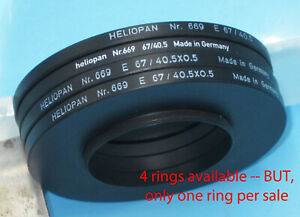 HELIOPAN Step Up Ring 40.5mm - 67mm Filter Ring Adapter #669, 40.5 67 H17