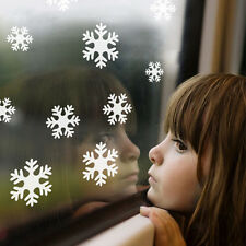 Christmas Snowflakes Wall Stickers Wall Decal Removable Vinyl Windows Decor