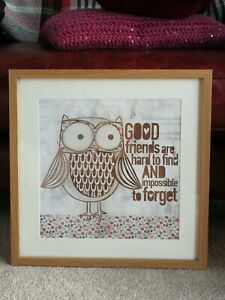 Good Friends Are Hard To Find And Impossible To Forget Framed Print