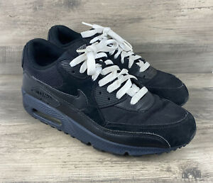 NIKE AIR MAX 90 SIZE 8.5 SOUTH BLACK ANTHRACITE SHOES SNEAKERS 325018 016