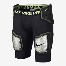 NEW NIKE PRO HYPERSTRONG HARDPLATE PADDED FITTED BOYS FOOTBALL SHORTS SZ/ XL