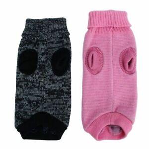 Pet Puppy Dog Warm Sweater Knitted Clothes Knitwear Jumper Coat Winter XS-XXL