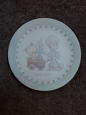 Enesco Precious Moments Easter 1988 Collector Plate