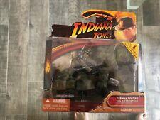 Indiana Jones Ultima Cruzada-soldado alemán con figura de acción de la motocicleta