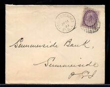 1899 MOUNT STEWART PEI cds 2c Numeral issue Canada cover