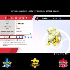 Arcanine   Ultra Shiny   HA   6IV   Pokemon Sword & Shield