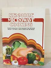 VTG COOKBOOK SEARS KENMORE MICROWAVE COOKING 1981 Photos
