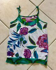 Tee shirt à bretelles fille DESIGUAL coton Taille 8 ans