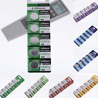 5 Stück CR927-CR2450 Knopfzelle Batterie Elektronische Knopfzellen Knopfbatterie