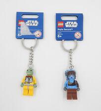 Lego Star Wars llavero/keychain-Bossk & Aayla Secura-nuevo