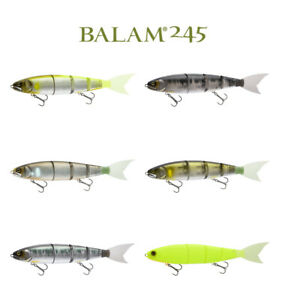 Madness Balam 245 Multi-Jointed Floating Swimbait - Select Color(s)