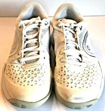 Revolt Pro WHSI 2.0 White And Gray Womens Tennis Shoes  Size 8