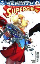 Supergirl #6 Bengal Variant Cover DC Comics 2017 (DCU Rebirth)