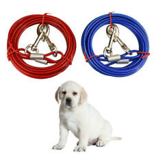 3M Strong Dog Pet Tie-Out Cable Leads Metal Steel Wire Chain Leash Durable