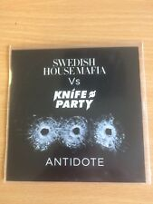 Swedish House Mafia Vs Knife Party - Antidote - Rare 5 Remix Cd Promo
