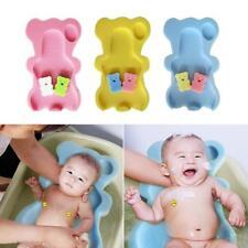 3 Farbe Baby Badeschwamm Baby Sitzschwamm Badeunterlage Für Babys ab-der-Geburt