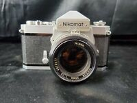 Nikon SLR 35mm FT Nikomat With Ai NIKKOR 50mm F/1.4 Lens from Japan