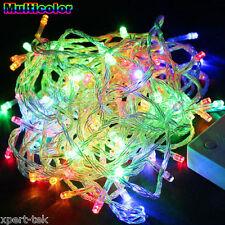 100 LED 10M RGB String Fairy Lights Christmas Wedding Garden Party Xmas Decor