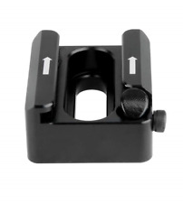 NICEYRIG Cold Shoe Mount Adapter with Anti-off Button Shoe Bracket for Flashes