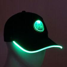 Zone12 Seattle 12 Fan Light Up Hat Snap Back Baseball Running Cap