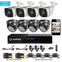 Q-See QC904-4L3-1R 720p HD Security System with 4 Bullet Cameras 4-Channel 1TB