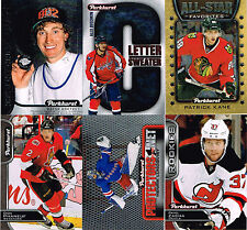2016-17 Parkhurst All-Star, Protectors, Letter, Centennial, parallels - YOU PICK